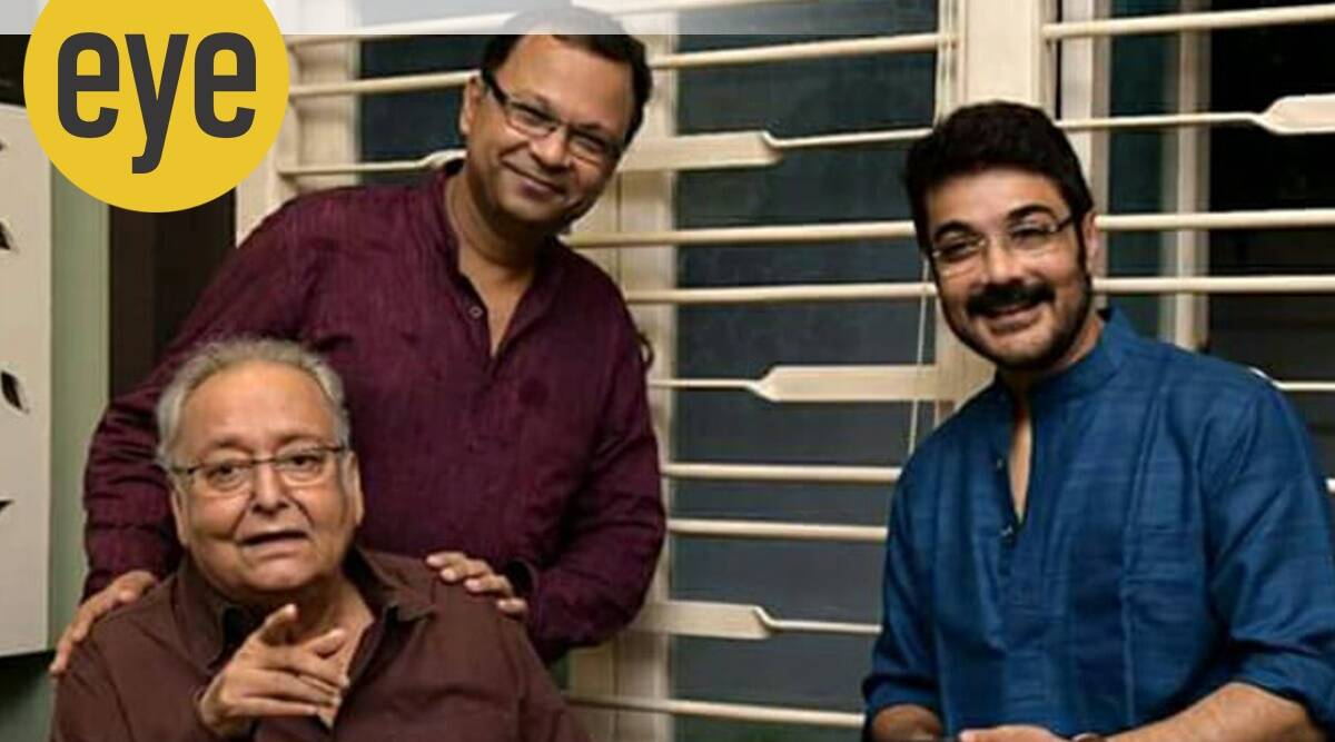 atanu ghosh, soumitra chatterjee, soumitra chatterjee bengali cinema legend, soumitra chatterjee dead, sunday eye , eye 2020, atanu ghosh tribute, indianexpress,