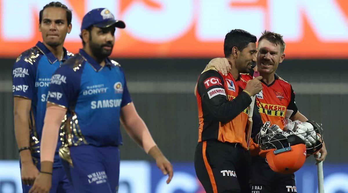 MI vs SRH, IPL 2021