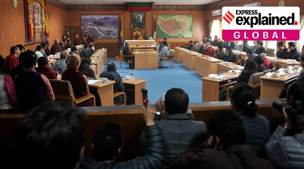 tibet elections, tibet parliament in exile eleciton, tibetan election explained, 2021 tibet polls, dalai lama, indian express