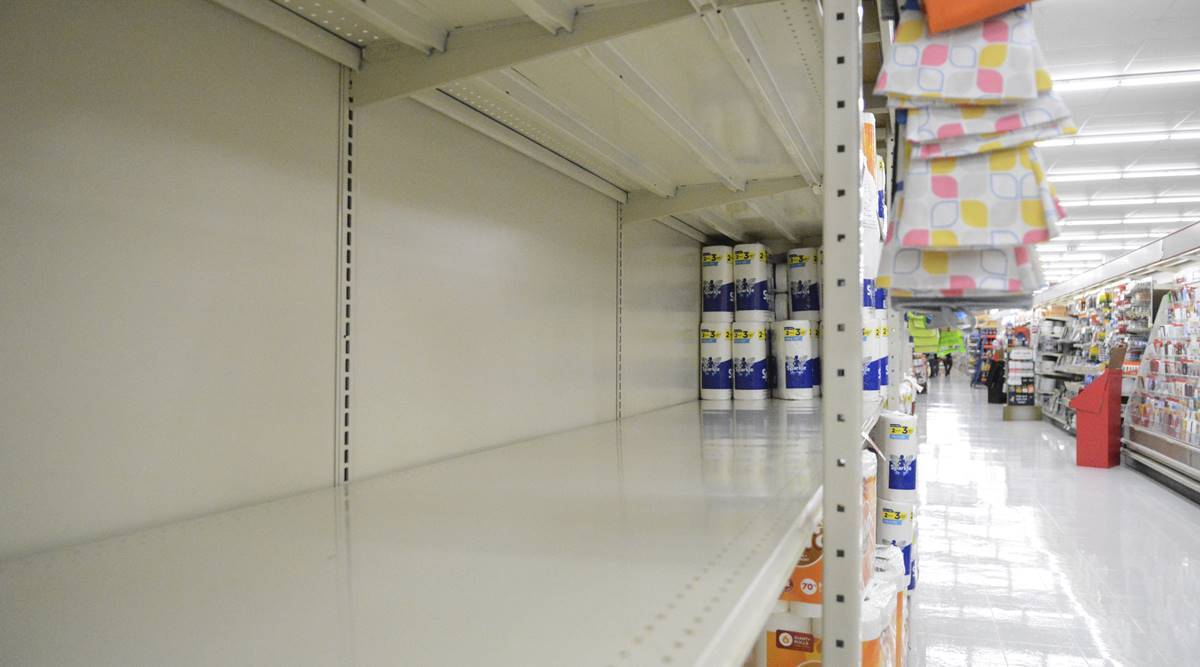 Toilet paper limits, empty shelves are back as virus surges in the US