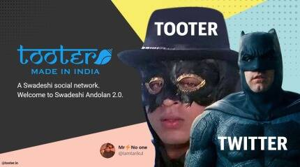 The many memes on Twitter about its Indian competitor Tooter