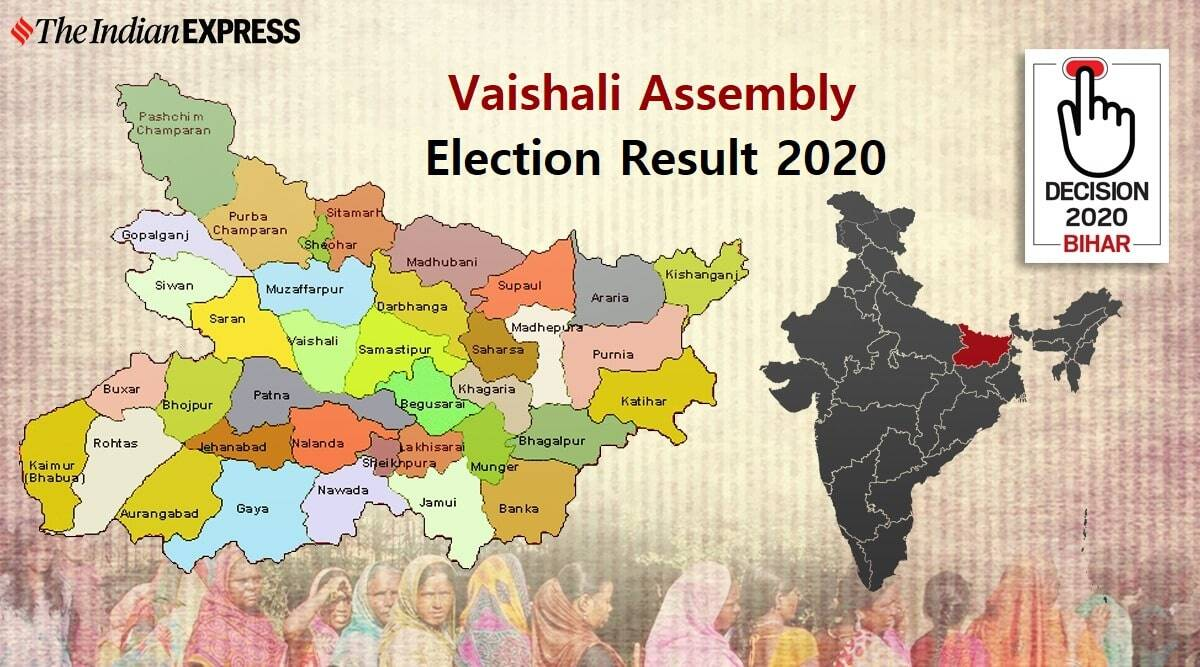 Vaishali Election Result, Vaishali Election Result 2020, Vaishali Vidhan Sabha Chunav Result 2020