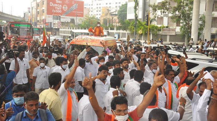 Vel Yatra, Vel Yatra bjp, Vel Yatra chennai bjp, tamil nadu govt refuses permission for Vel Yatra, chennai news, vel yatra Tiruttani, chennai city news