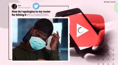 youtube, youtube down, youtube outage, youtube down memes, youtube problem fixed, youtube is back, tech news, viral news, indian express