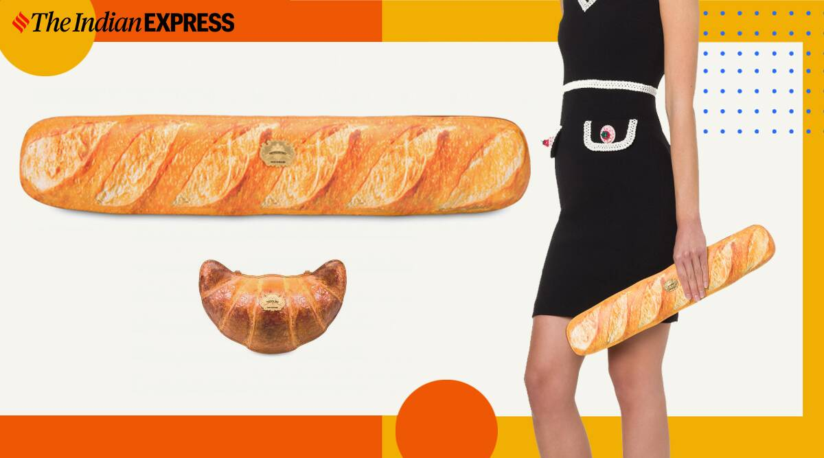 Moschino's baguette bag is latest addition to 2020's bizarre style trends    Lifestyle News,The Indian Express
