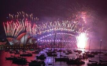 Happy New Year 2021 Images, Photos: New Zealand and Australia end a whimper  of a year with a bang