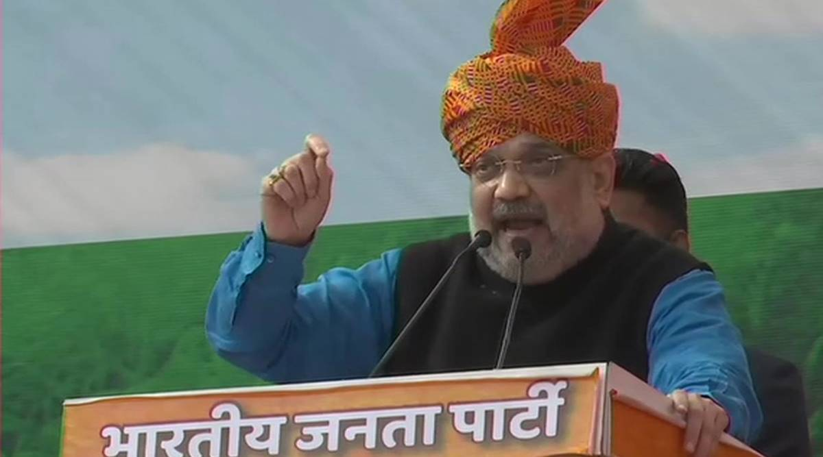 Union Home Minister Amit Shah, Indian economy