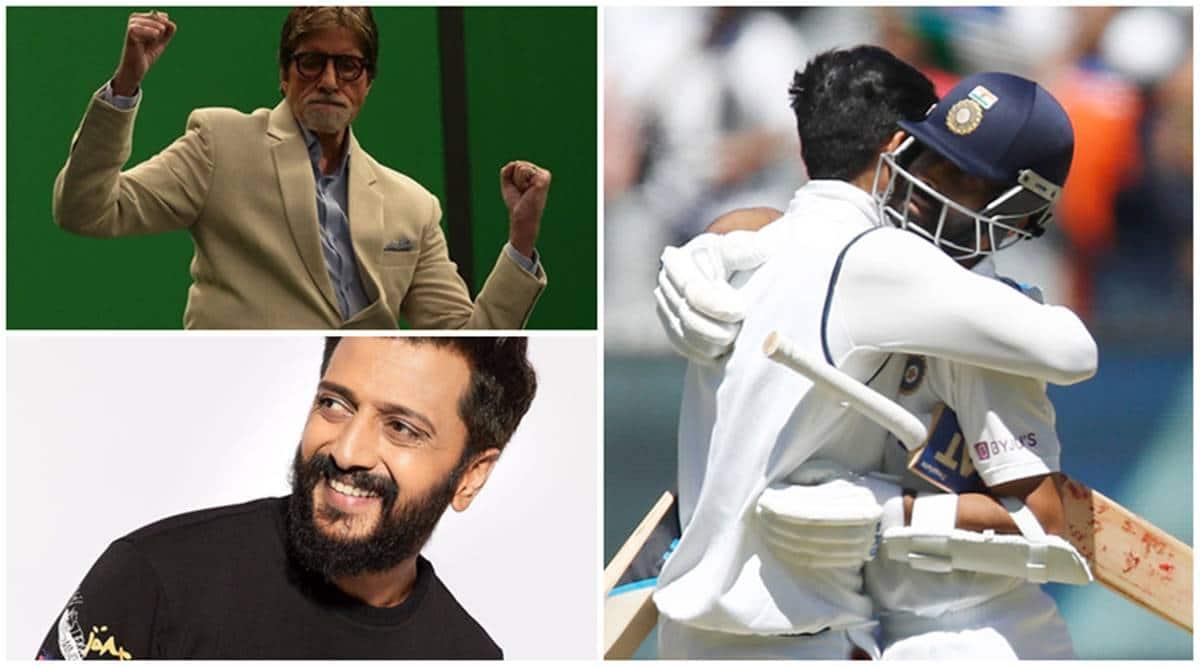 amitabh bachchan, riteish deshmukh, venkatesh daggubati on india win in test match
