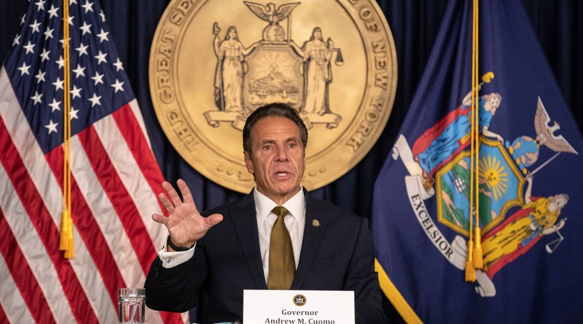 Andrew Cuomo, Joe Biden, US Attorney general post, New York governor Andrew Cuomo, US news, world news, Indian express