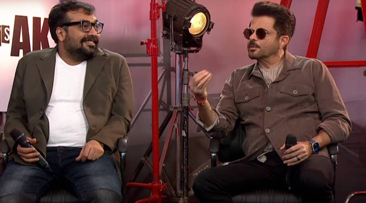 Anil Kapoor and Anurag Kashyap in AK vs AK