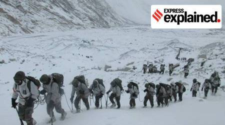 Indian Army, Army winter, Army winter deployment, LAC, LAC standoff, India China news, Indian Express
