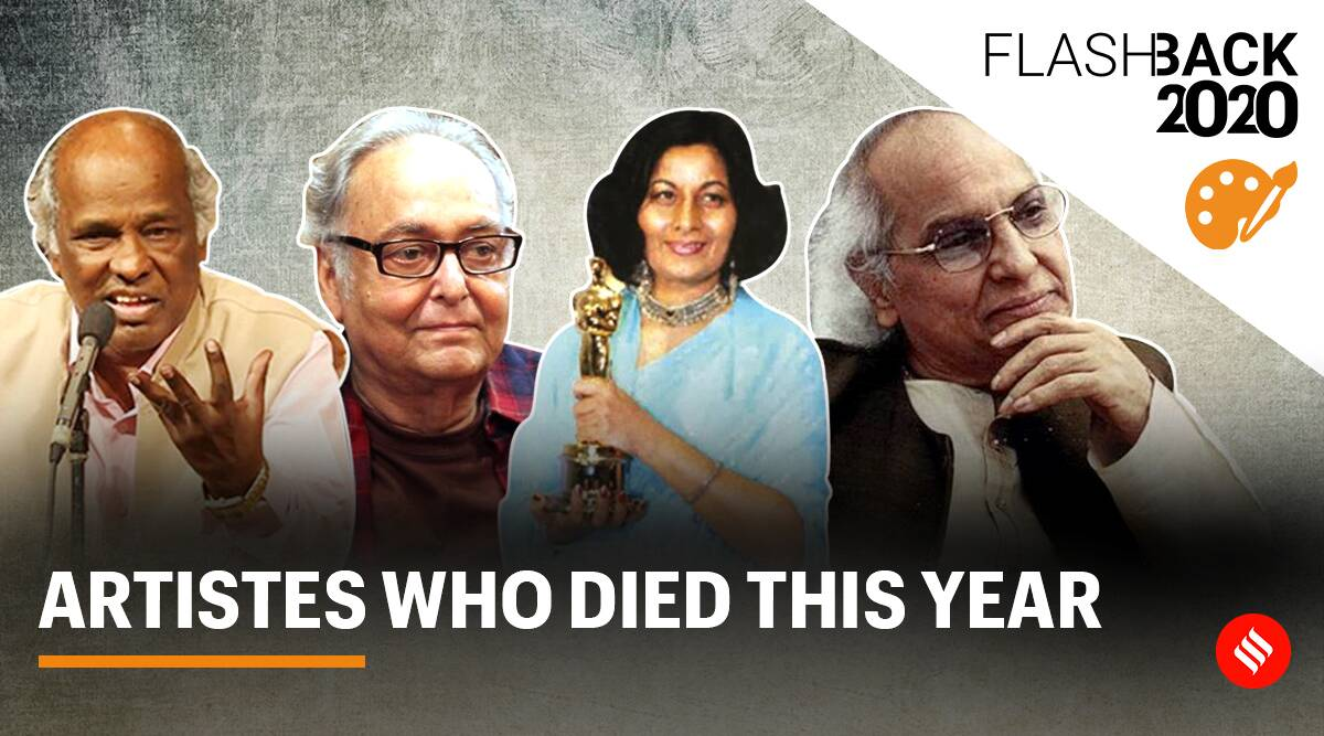 yearender 2020, yearender art and culture, art and culture news 2020, artistes who died in 2020, deaths in 2020, 2020 recap in art and culture, indian express news