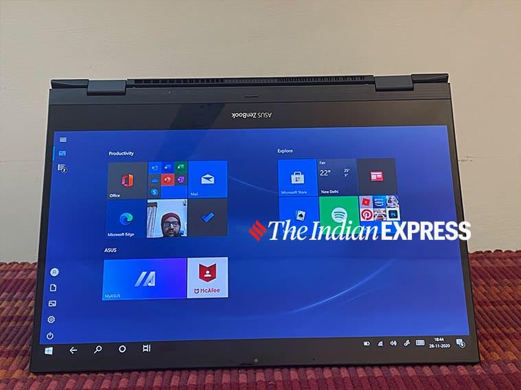 Asus ZenBook Flip S, Asus ZenBook Flip S price in India, Asus ZenBook Flip S review, Asus ZenBook Flip S specs, best laptops with Intel 11th gen processors