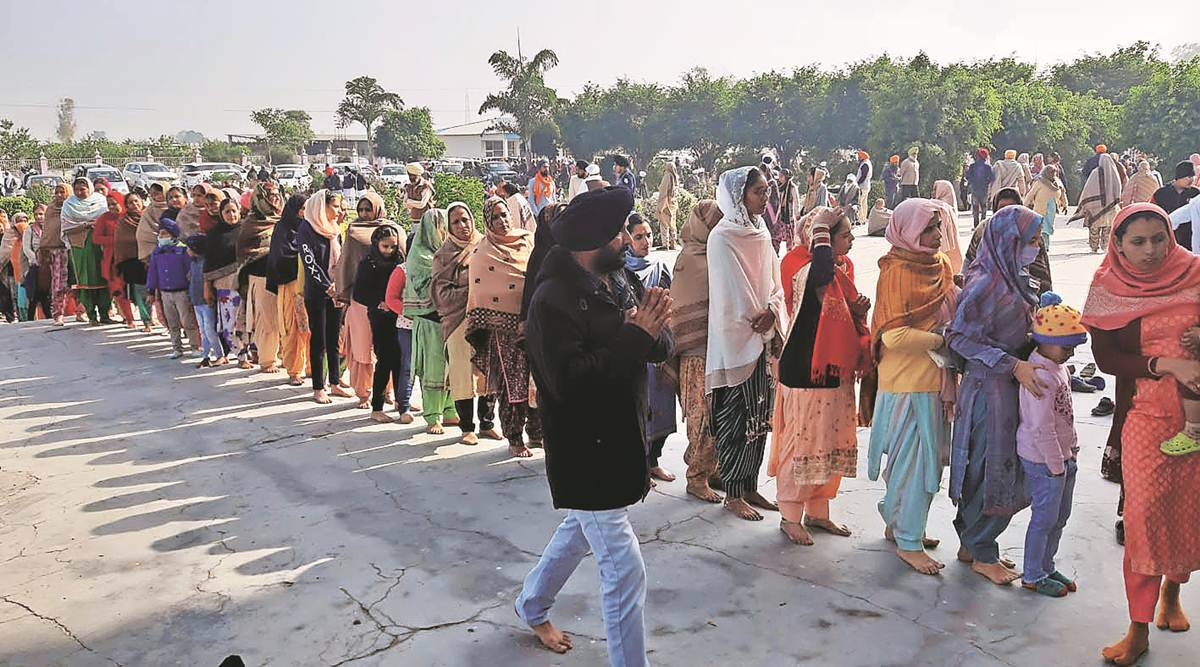 Farmers protests, Farmer suicide, Singhu Farmer suicide, Baba Ram Singh, Farmers, Sikh priest, Indian Express