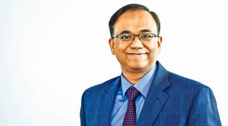 Chandresh Kumar Nigam, Axis Mutual Fund, Axix Bank, stock markets, GDP growth rate, INdian express news
