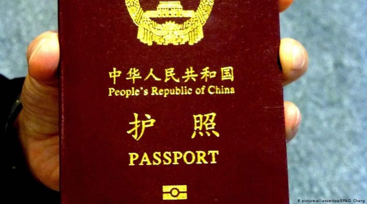 Chinese passport, China passport