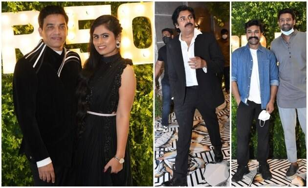 Dil Raju 50th birthday bash photos