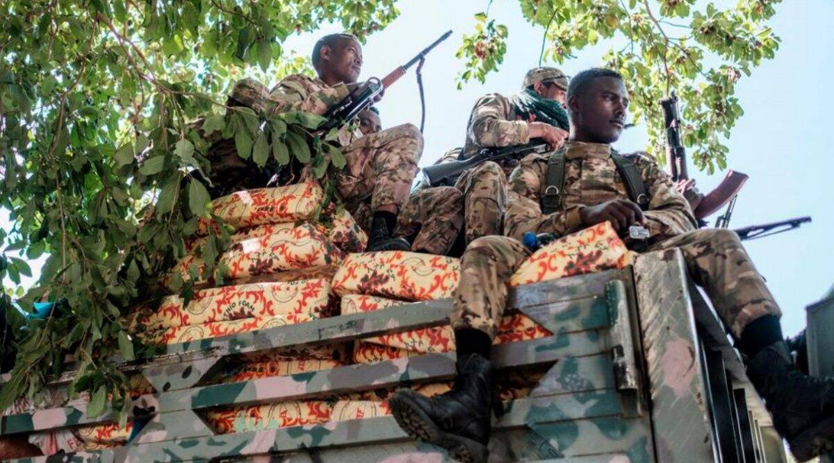 Ethiopian Military massacre
