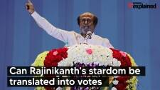 Explained: Can Rajinikanth's stardom be translated into votes