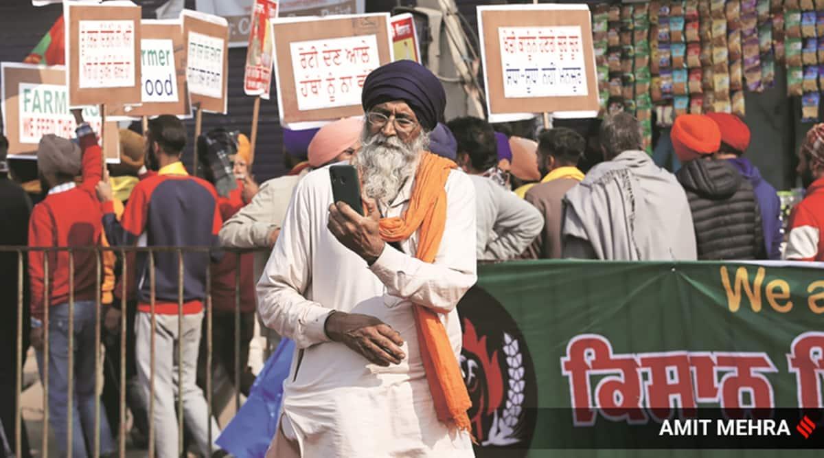 Farmer's Protest Singhu border