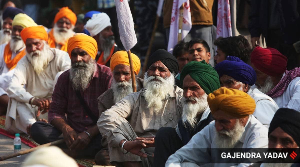 farmers protests, farmers talk center, Vigyan Bhawan, singhu border farmers, delhi border farmers, peasants demands, indian express