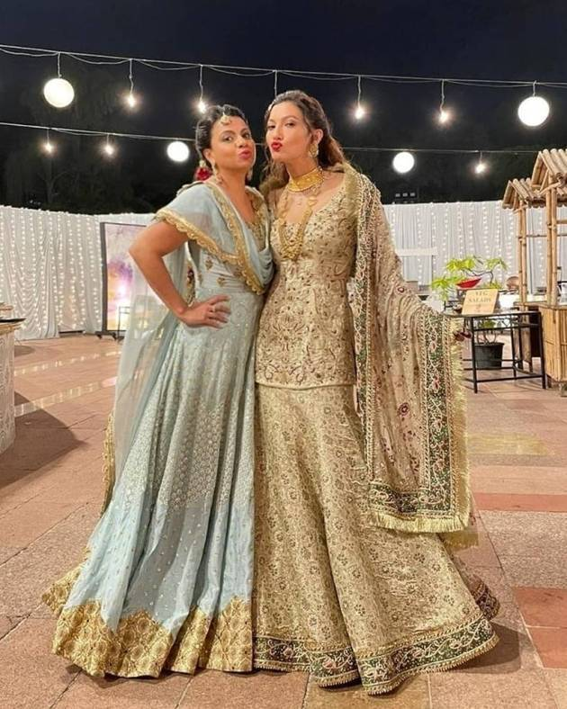 preeti simoes with gauahar khan