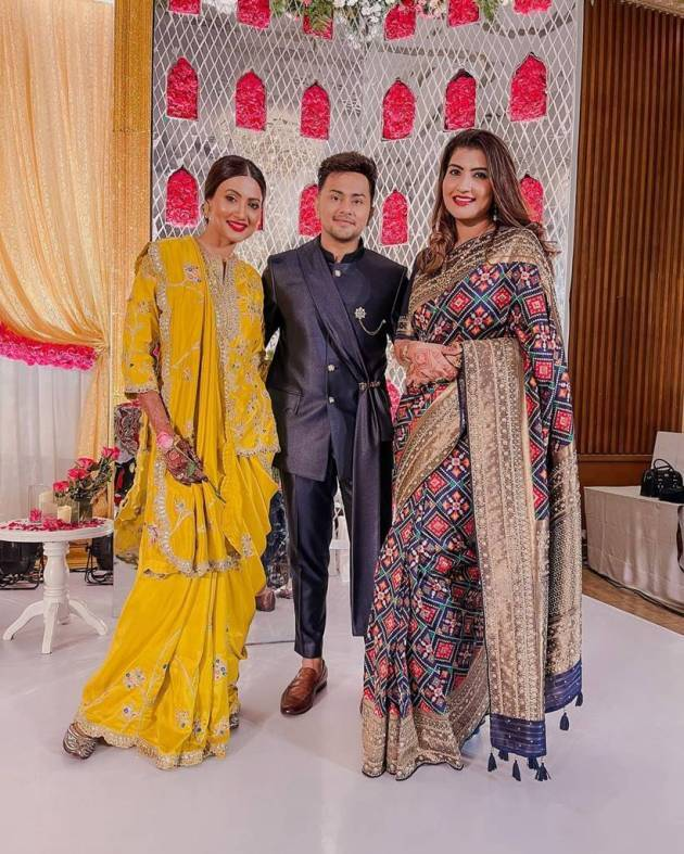 gauahar khan and zaid darbar walima photos