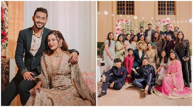 gauahar khan and zaid darbar walima ceremony
