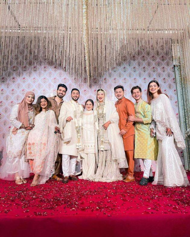 gauahar khan zaid darbar nigar khan wedding album