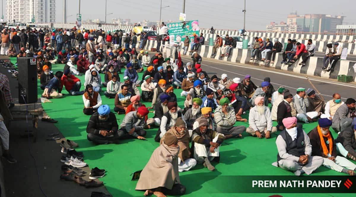 Farmers protest, Farmers protest Delhi, Delhi Farmers protest, Ghazipur border farmers protest, MSP, Farmers MSP concern, India news, indian express news