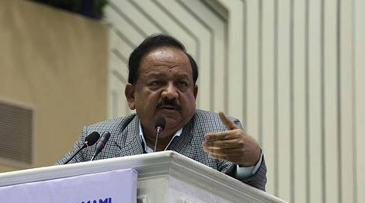 Dr Harsh vardhan, health minister, education news, medical college, Lady Hardinge Medical College, education news, convocation, mbb, neet,