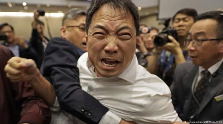 Activistas de Hong Kong arrestados