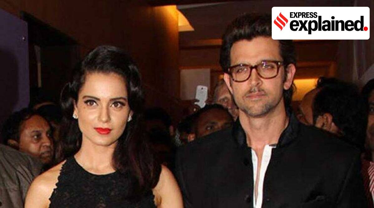 Explained: A brief history of Kangana Ranaut and Hrithik Roshan's legal battle - The Indian Express