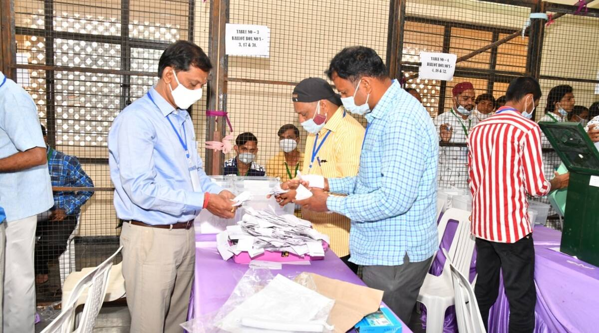 GHMC polls, Hyderabad mayir election, State election commission, Hyderabad news, Hyderabad municipal polls, Indian express