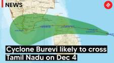 Cyclone Burevi expected to cross Tamil Nadu on Dec 4; NDRF teams deployed