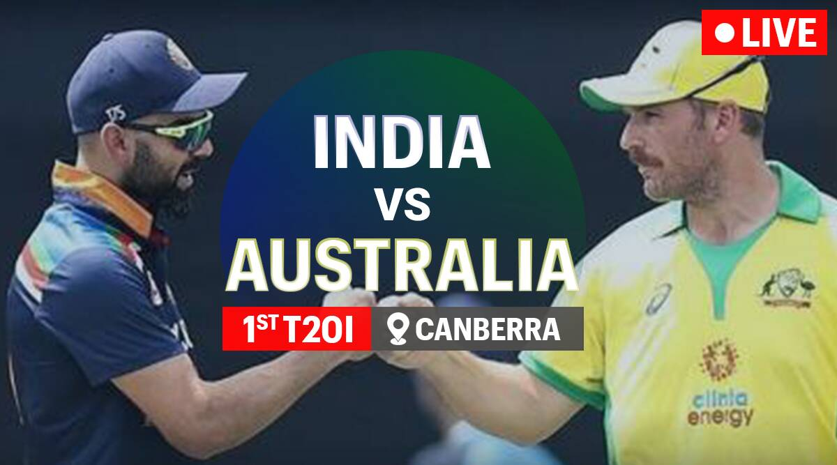 India vs Australia 1st T20 Live Score, Ind vs Aus 1st T20 Live Cricket  Score Streaming Online: Watch Live Match on Sony Ten 3, Sony Liv
