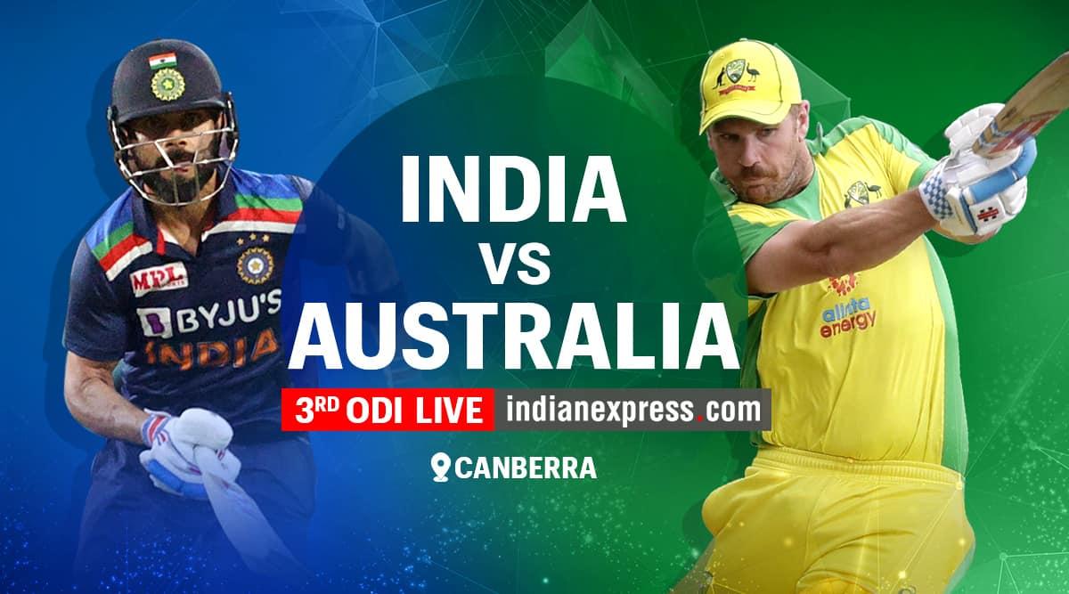 India vs Australia 3rd ODI Live Score, Ind vs Aus 3rd ODI Live Cricket  Score Streaming Online: Watch Live Match on Sony Ten 3, Sony Liv