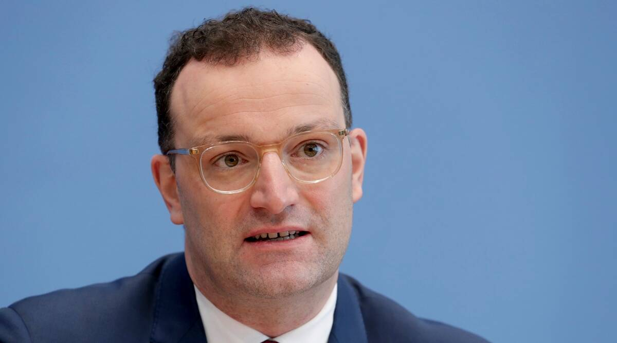 James Spahn, German Health Minister, Germany COVID-19