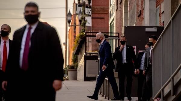 Joe Biden, Joe Biden electoral college votes, Joe Biden US presidency, US Election results, Donald Trump, Indian Express