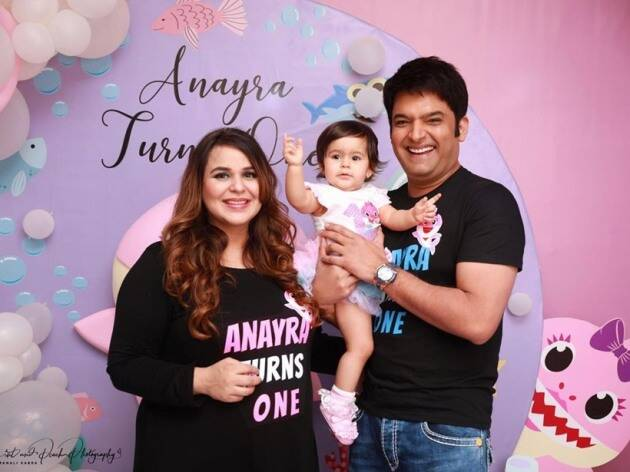 Kapil Sharma, Ginni Chatrath, daughter Anayra