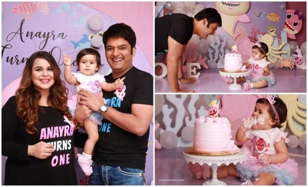 Kapil Sharma daughter Anayra birthday party photos