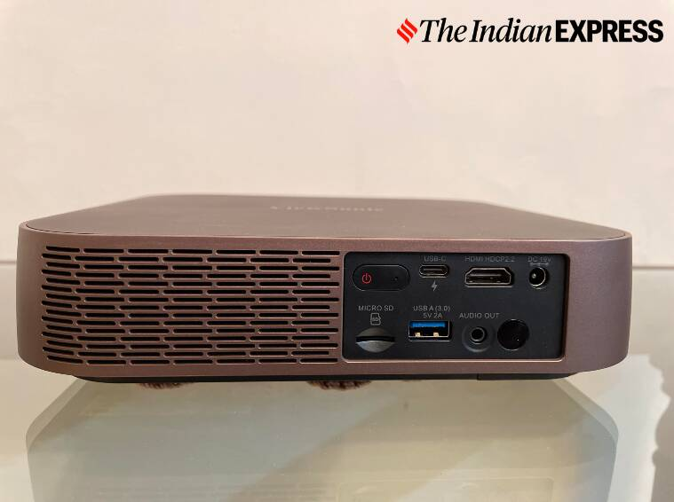 ViewSonic M2, ViewSonic M2 projector, ViewSonic M2 portable projector review, ViewSonic M2 price in India, portable projectors to buy in 2020