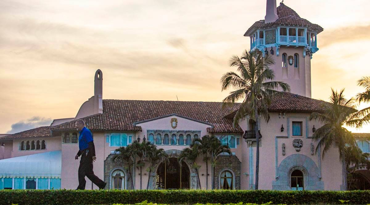 A glitch in Trump's plan to live at Mar-a-Lago: A pact he signed says he can't | World News,The Indian Express