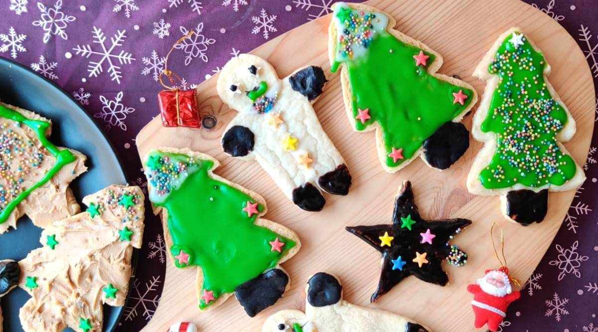 Christmas cookies, healthy Christmas cookies, making Christmas cookies at home, Christmas cookie recipe, healthy eating, millet recipes, indian express news