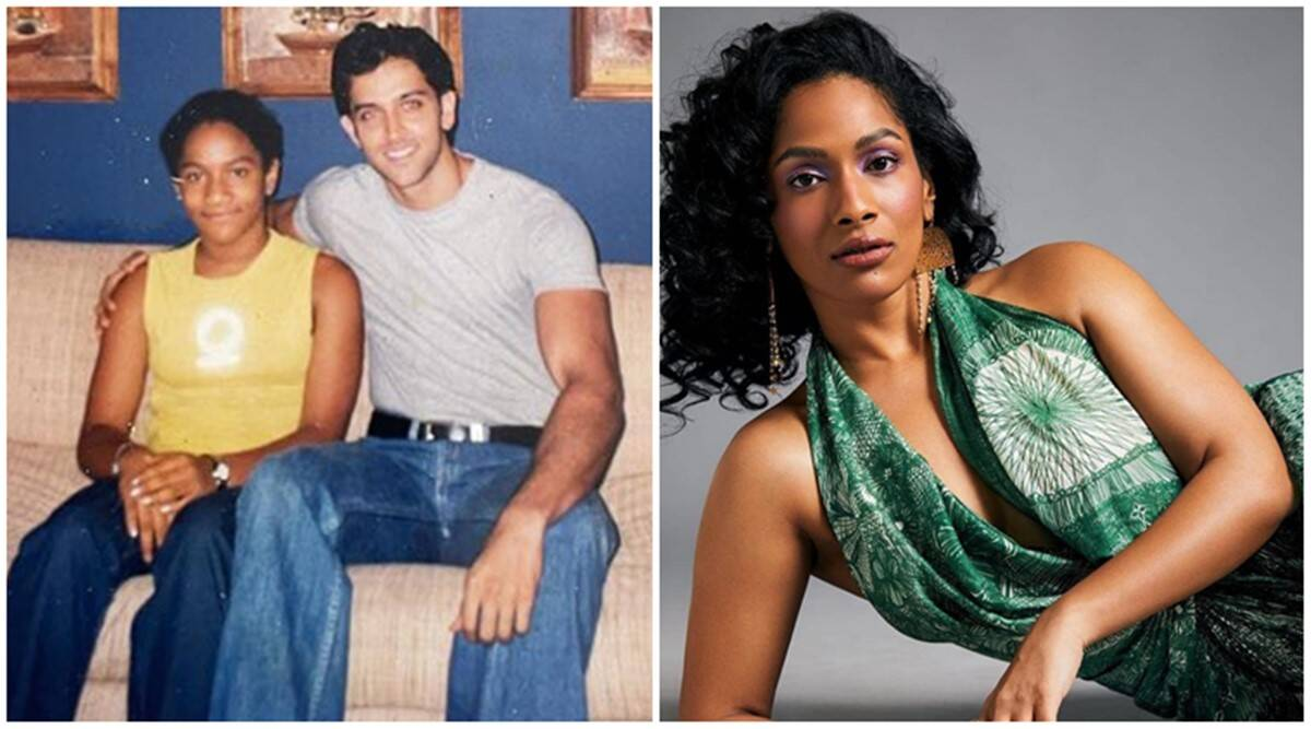 masaba gupta hrithik roshan tbt throwback photo