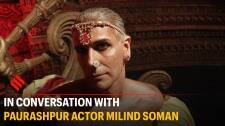 Paurashpur is the first fantasy period drama in Indian OTT space: Milind Soman
