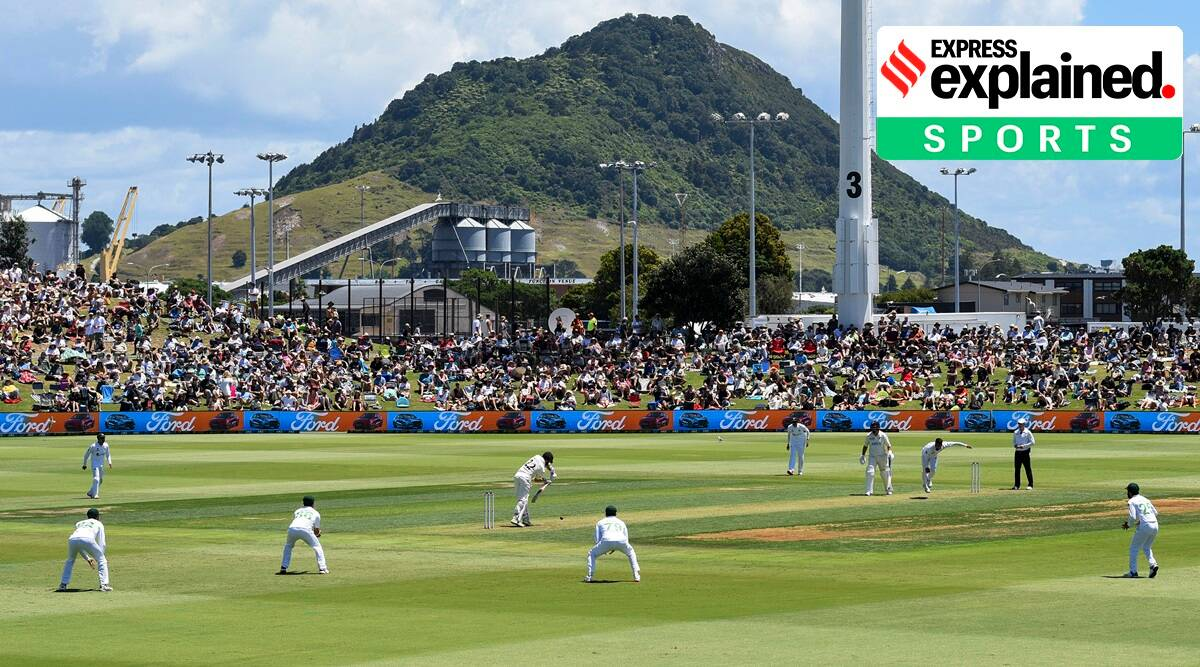 New Zealand vs Pakistan, NZ vs PAK, NZ PAK test match, NZ PAK test score, New Zealand Test win, Indian Express