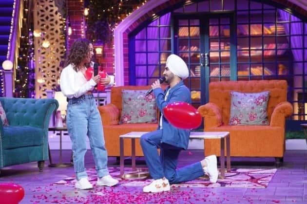 Neha Kakkar, Rohanpreet Singh, The Kapil Sharma Show 1