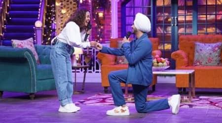 Neha Kakkar, Rohanpreet Singh, The Kapil Sharma Show