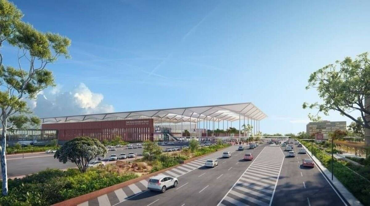 Noida airport, Jewar airport, new Noida airport, Jewar airport features, Indian Express